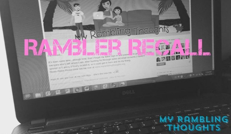 Rambler Recall-So a woman walks into a house…A Thanksgiving Tale