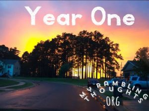 Sunset of Year One as a Military Spouse