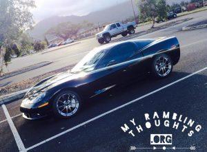 Drive that Corvette